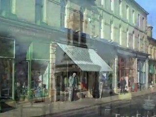 Saltaire  Dorf -  Bredford, Yorkshire, England.  UNESCO Weltkulturerbe