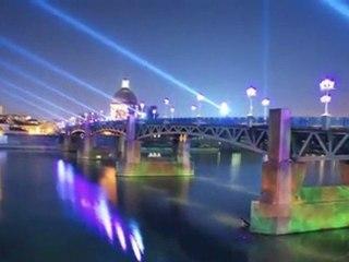 Toulouse Pink City. Frankreich