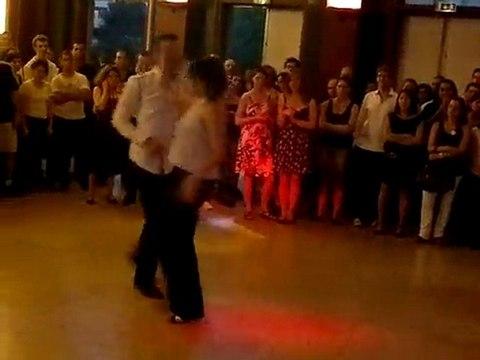 Rock 6 temps: Franck et Emilie , danse aux arts,Ensam Paris démo fin d'année juin 2011