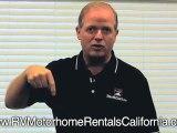 RV Rentals In California - Private Motorhome RV Rentals