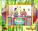 Abhiruchi - Recipes - Fried Potato Rice, Gasa Gasala Payasam & Macaroni Payasam - 03