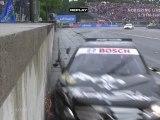 DTM Norisring 2011 Big crash Paffett