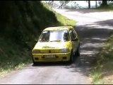 Rallye deRallye des Trois Châteaux 2011  lionel ; julien & rémi ; pierres Trois Châteaux 2011