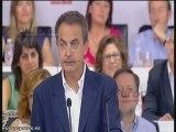 Zapatero apoya a Rubalcaba como candidato