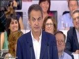 """Zapatero: """"Rubalcaba es la persona que quieren"""""""