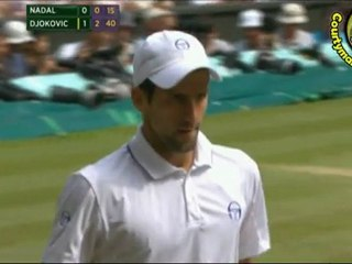 Rafael Nadal vs Novak Djokovic FINAL WIMBLEDON 2011 [Hot Shots by Courtyman]