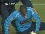 Paris SG - RC Lens, L1, saison 2004/2005 (vidéo 3/3)