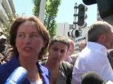 """Segolène Royal: """"Arrêtons de mettre la pression"""" à DSK"""