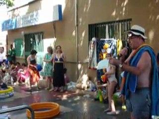 Manifiesto Asamblea de La Conce piscina de verano