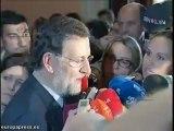 Rajoy asiste a la investidura de Zoido en Sevilla
