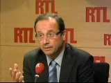 """François Hollande - DSK candidat : """"Un principe d'évidence et d'élégance"""""""