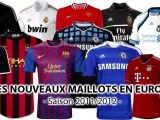Les nouveaux maillots européens !