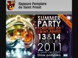 Bal Pompiers Saint Priest : Interview radio juin 2011