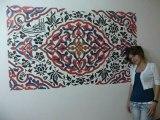 DUVAR SÜSLEME SANATI 2011 ŞARK ODAMIZ   decorative wall art (oriental room)