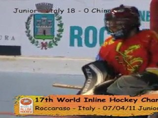 Roccaraso 2011 - Day 2 - Junior and Women World in Line Hockey  Championships (2011 july 4th). Day 2 in Roccarasso (Italy)