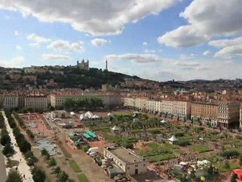 Time Lapse vu du ciel - Nature Capitale Lyon