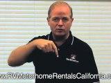 Private RV Rentals California - Private Motorhome RV Rentals