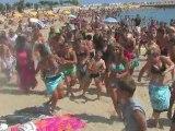 Beach Rugby Tour FFR : Flash Mob