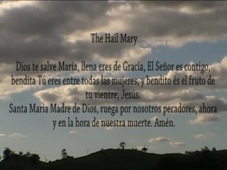 Variety #140: Audio / Visual Spanish Rosary With Litany