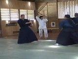 aikido cours jo au dojo de la montagne juin 2011