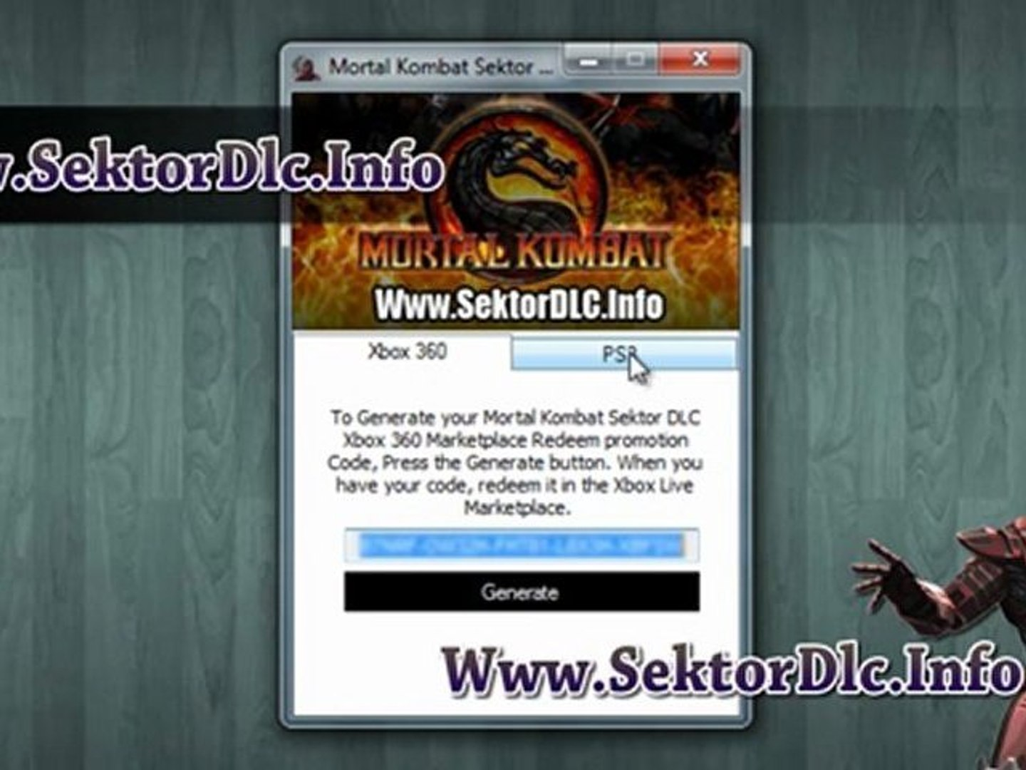 How To Get Mortal Kombat 9 Sektor Klassic Outfit And Fatality Dlc Video Dailymotion