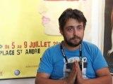 Interview Nicolas Pasquet (NoBrain) - Festival du film court en plein air de Grenoble - Mercredi 6 juillet 2011