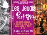 Les Jeudis DE PERPIGNAN - Eté 2011