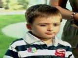 Le fils du président géorgien bat le record de vitesse de frappe sur un iPad