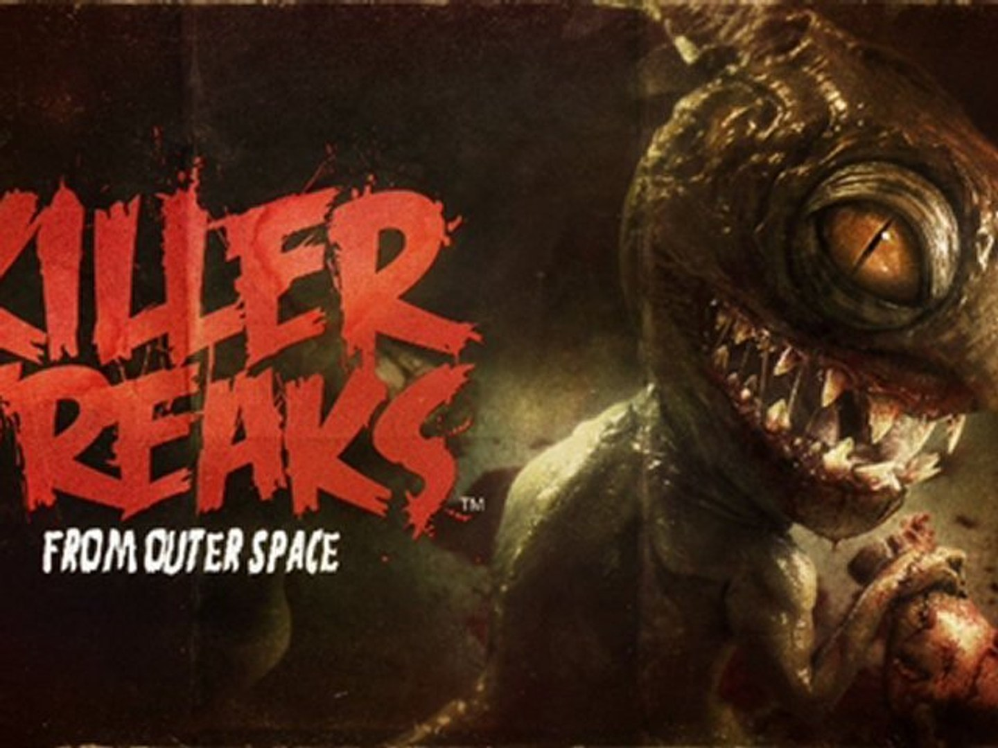 Killer Freaks From Outer Space (3 Key Arts)