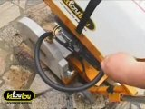Comment réaliser des saignées, des joints de dilatation ou des découpes de chape à l'aide d'une de sols dans le béton ou l'asphalte ?