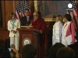 El Dalai Lama, invitado de honor en el Capitolio