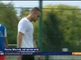 2011 REIMS, Mercato : Khalib Sekkat en Rouge et Blanc, le 8 Juillet 2011