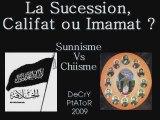 Califat ou Imamat Chiites Vs Sunnites