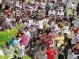 Flash mob Beat It tribute Michael Jackson mongkok hong kong