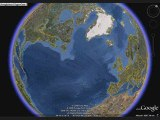 google earth homme a cheval