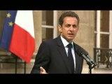 Discours de Nicolas Sarkozy sur son état de santé (intégral)