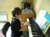 "RAFFI ARTO 7 ans - RAY CHARLES WHAT I SAY  ""PIANO"""