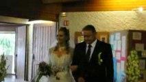 Mariage Elodie et Fabien : entrée Elodie