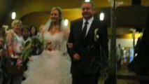 Mariage Elodie et Fabien : entrée Elodie 2
