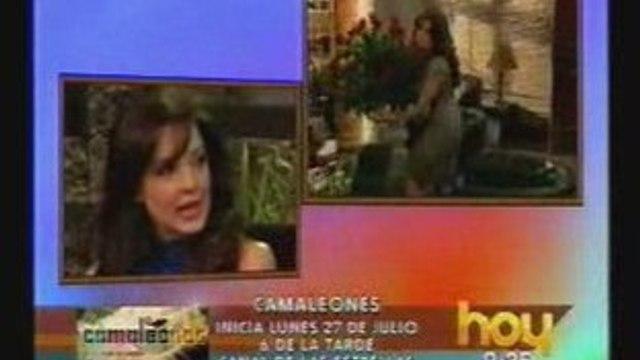 Edith González presenta Camaleones