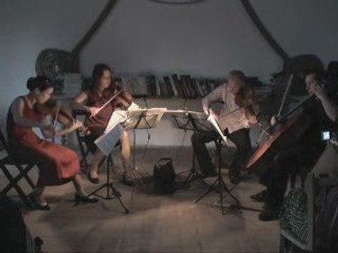Le Quatuor Lamy joue Ravel .... 2e mouvement