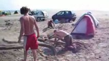 soleil de sable & homme de sable