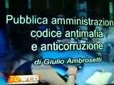 PUBBLICA AMMINISTRAZIONE CODICE ANTIMAFIA