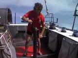 Monocoque Imoca 60 pieds DCNS 1000 de Marc Thiercelin