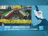 Iran: Ahmadinejad a prêté serment, des manifestants dispersé