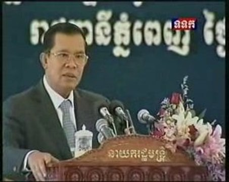 Hun Sen Message to Critics: Be careful or one day...