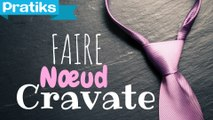 Comment faire un noeud de cravate ?