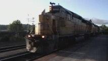 UP #9990 Heads back to Longview Yard