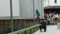 Acrobaties à Vélo  @Chamonix