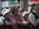 Paimpol. Le bagad de Lokoal Mendon au Chant de marin